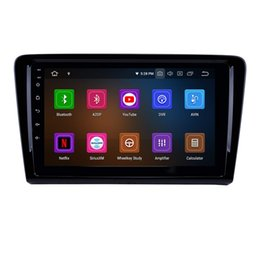 touch screen gps system UK - 9 inch Android 9.0 Car Radio GPS Navigation System for VW Volkswagen Santana 2012-2015 Support WiFi Rear View Camera Backup Camera