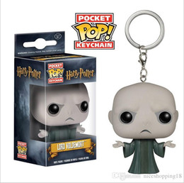 $enCountryForm.capitalKeyWord Australia - Funko POP Marvel Action Figure keychain Harry Potter Hermione Voldemort Deadpool Spiderman Joker Figurines Toy Keychains Movies T50