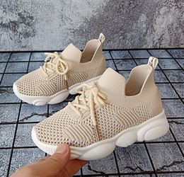 $enCountryForm.capitalKeyWord Australia - Boys shoes girls mesh breathable running shoes desinger kids sneakers children lace-up Bows non-slip casual shoe kids shoes F7154