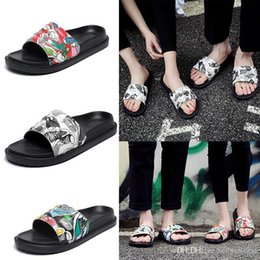 $enCountryForm.capitalKeyWord Australia - good quality Women Slide Summer Korean men Sandals Fashion Wide Flat Slippers With Thick Sandals Slipper House Stud flip flops slippers