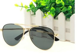 $enCountryForm.capitalKeyWord NZ - Metal Pilot Sunglasses Men Women Oval Frame frog mirror Prescription Athletic Eyeglasses Retro Designer Sun glasses High End Spectacles 3422