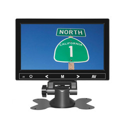 Laptop Hdmi Input Australia - 7 inch Touch Button HD Mini Monitor Computer TV with HDMI VGA Video Audio Input for Home security Display Car Rearview