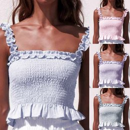 Tops Girl Shirt Design Australia - feitong 2019 Female Tops Women Sleeveless Fashion Top Lace-Neck Sling Vest Shirt Tops New Design camiseta mujer sweet girl top