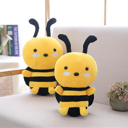 $enCountryForm.capitalKeyWord Australia - 30CM Hot Sale Toys For Kids Little Bee Soft Dolls Intelligence Education Lovely Animal Dolls Stuffed Plush Toy Baby Boys Girls Party Gift