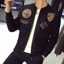 $enCountryForm.capitalKeyWord Australia - Cool2019 Armband Dress Badge Baseball Lead Chamois Down Jacket Loose Coat