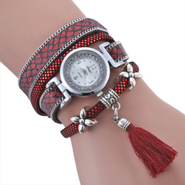 Wholesale Female Wrist Watches Australia - Female Cortical Suspension Bracelet watch Lady Quartz Watch Fashion Leather Women Casual Wrist HOT SALE