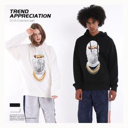 $enCountryForm.capitalKeyWord Australia - Mens Designer Hoodies Luxury Hiphop Wear Fashion Trendy Masked Mans Sweater Trendy Loose Mens Clothes 2019 New Kenye West Hoodies