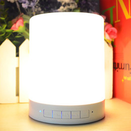 $enCountryForm.capitalKeyWord NZ - new top selling usb rechargeable bluetooth speaker Colorful Night Lamp Touch Control Speaker With Blueteeth ,wireless portable speaker