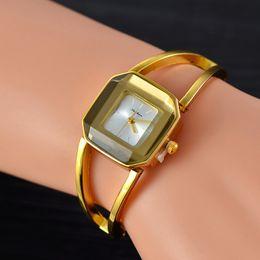$enCountryForm.capitalKeyWord Australia - Wholesale Spot Square Ladies Watch Women's Fashion Trend Korean Student Gift Bracelet Bracelet Watch
