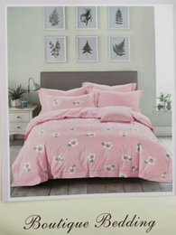 Bedsheet Cotton White Australia - 7pc variety of colorful white dot colored cute bed sheet spring and autumn 100% cotton comfort kids home textile