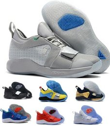blue moon boots 2019 - Paul George Basketball Shoes Sneakers Men Grey Fortnite Wolverine Playstation Space Moon Exploration Oklahoma Pg 2.5 PG