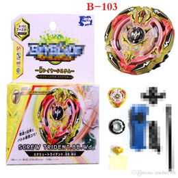 metal fusion fights Australia - BB831C series Metal 4D fusion Bayblades Burst With Launcher And origina Box B102 B103 Toys fighting gyro Gyroscope Spinning top for kids