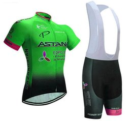 Uv Protection Suits Australia - 2019 new summer professional cycling team cycling suit summer mountain bike clothing UV protection quick-drying comfortable quick-drying bre
