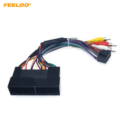 stereo adaptor NZ - FEELDO Car Stereo Audio 16PIN Adaptor Wiring Harness For Hyundai IX25 KX3 H1 2006+ Power Calbe Install Aftermarket #1594