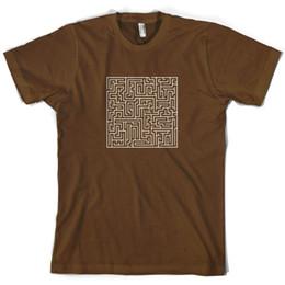 $enCountryForm.capitalKeyWord UK - Maze Mens T-Shirt Labyrinth Puzzle Present 10 Colours FREE UK P&P Funny free shipping Unisex Casual