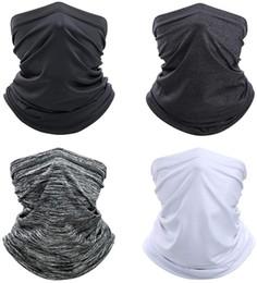 Опт 4PIECES шеи Gaiter лица шарф Маска-Dust, Защита от солнца Прохладный Легкий ветрозащитный, дышащий Рыбалка Пеший туризм Бег Велоспорт