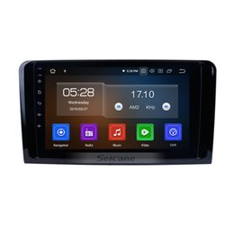 mercedes gps radio UK - Android 9.0 Car Radio for 2005-2012 Mercedes Benz MLClass W164 ML280 ML300 ML320 ML350 ML420 ML450 ML500 ML550 ML63 with USB support car dvd