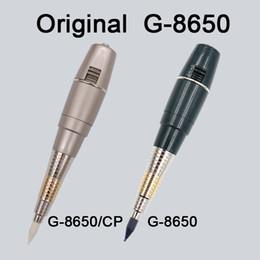 Venta al por mayor de 1 juego G8650 Taiwán Maquillaje permanente Kit sol gigante Máquina de tatuaje G-8650 con la batería Máquina de tatuaje Kit completo