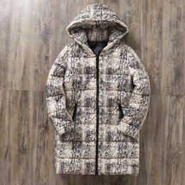 spring jackets for womens Australia - snake pattern spring womens jackets and coats 2019 Parkas plus size for women Jackets warm Outwear With Oversize Coat Parka Y190926