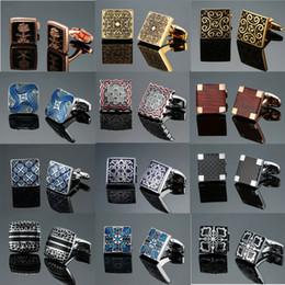 Fiber Link Australia - DY New luxury jewelry brand of high-grade mahogany carbon fiber retro pattern Cufflinks men's shirts Cufflinks free shipping