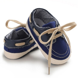 $enCountryForm.capitalKeyWord Australia - Baby Boys Canvas Shoes Breathable Mixed Color Anti-Slip Shoes Sneakers Soft Soled Walking First Walkers 0-18M Shos L
