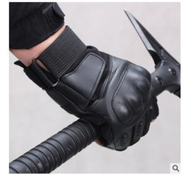 $enCountryForm.capitalKeyWord Australia - Motorcycle Gloves Touch Screen Goatskin Leather Real Genuine Cycling All Season Moto Glove Men Racing Motorbike