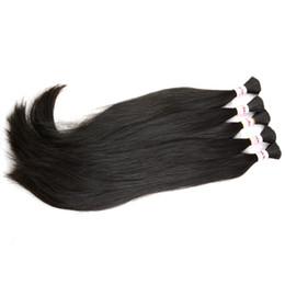 $enCountryForm.capitalKeyWord Australia - Brazilian Indian Peruvian Malaysian braiding hair extensions bulks 3 4 5 bundles natural raw straight human hair bulk micro braid on head