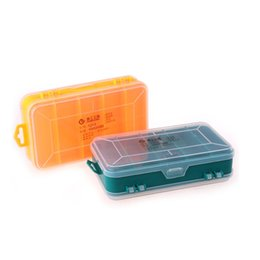 bead organizer container Australia - 13 Cells Portable Jewelry Tool Storage Box Container Electronic Parts Screw Beads Ring Organizer Plastic Case