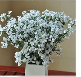 fake baby s breath flowers Australia - New Arrive Gypsophila Baby s Breath Artificial Fake Silk Flowers Plant Home Wedding Decoration