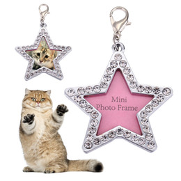 $enCountryForm.capitalKeyWord Australia - Rhinestone Dog Cat Id Tag Personalized Engraved Pets Address Name Label Collar Pendant For Small Medium Dog Cats