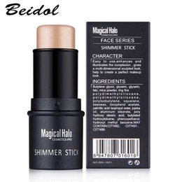 Wholesale Quality Original Brand Magical Halo PRO Face Series Shimmer Stick Whiten Brighten Highlighter Contour Concealer Silver Bronzer D Makeup Pen