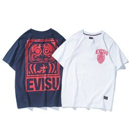 $enCountryForm.capitalKeyWord Australia - Evisu New Arrival Mens Designer T Shirts Casual Mens Summer Short Sleeves High Quality Hip Hop Men Womens Polo