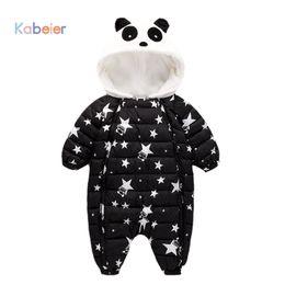 $enCountryForm.capitalKeyWord NZ - Jumpsuit Autumn Winter Snow Suit Jacket Kids Newborn Infant Baby Animal Toddler Baby Down Cotton Cartoon Rompers 6-9-12-18-24M