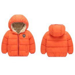 newborn baby clothes for winter 2019 - Baby Coat Boys Winter Jackets For Children Autumn Outerwear Hooded Infant Coats Newborn Clothes Kids Snowsuit Thicken ch