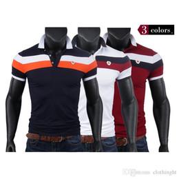 Nuevos polos para hombre camisas de polo impresas de algodón de manga corta Camisas Polo Casual Stand Collar hombre Polo Polo 3XL 9602 en venta