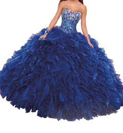 Plus Gowns Jackets Australia - 2019 New Sweetheart Girls Ball Gowns Ruffles Beaded Women Quinceanera Dress Custom made Plus size Sepcial Occasion dress with free jacket