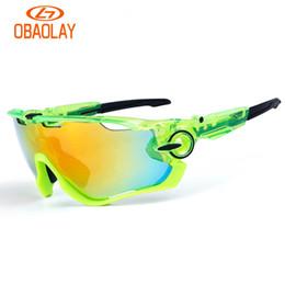5e4dd3b540 ... de alta calidad gafas de sol polarizadas 3 lentes Gafas de sol para  hombre gafas para mujer Deporte Ciclismo Bicicleta Corriendo Hombres Gafas  con caja