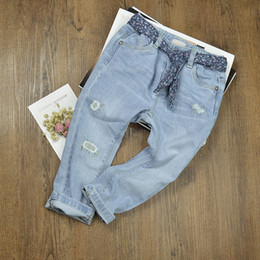 77b13729a Kids warm jeans online shopping - Newborn Baby Jeans Pants Ripped Denim  Trousers Toddler Kids Winter