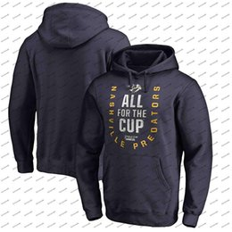 Discount pullover grey women - Nashville Predators 2018 Stanley Cup Playoffs Hoodie Men Women Youth Navy Bound Behind The Net Pullover Sweatshirts
