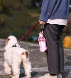 Foldable water bottle For outdoor online shopping - Portable Pet Dog Water Bottle ML Leak Proof Pet Water Dispenser Drink Bottle For Pets Outdoor Travel Foldable Kettle Pet Supplies