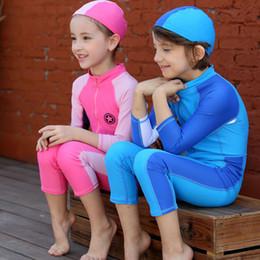 $enCountryForm.capitalKeyWord Australia - Kids One-piece Dive Skin Lycra Rash Guard UV Sun Protection UPF50+ Boys Swimming Surfing Snorkeling Suit Girls Swimwear 3-10