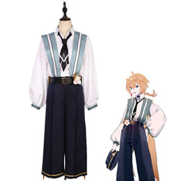 Discount anime hatsune miku costume Hatsune Miku Kagamine Len Cosplay Costume Halloween Costume Full Set