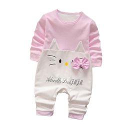 $enCountryForm.capitalKeyWord NZ - Spring Newborn Jumpsuit Kids Baby Boy Girl Clothes Cartoon Baby Boys Girls Long Sleeve Romper Infant Product Clothing for Babies