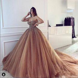 Castle Bling Wedding Dress Canada - 2019 New Ball Gown Sweetheart Wedding Dresses Crystal Bling Long Train Full Beading Gothic Wedding Gowns South Africa vestidos de novia