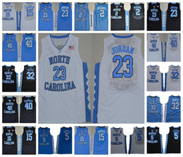 66ca6e7abc7c NCAA UNC North Carolina Tar Heels  23 Michael 15 Vince Carter 5 Nassir  Little 32 Luke Maye Berry Barnes Jerseys White Blue Black Stitched