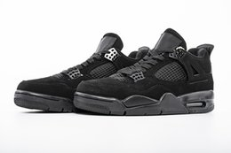 a0d198e9aafb Classic 4 Black Cat high quality Basketball Shoes For Men 4s Black Light  Graphite Athletic Sports Sneakers Mens Trainer Size 8-13