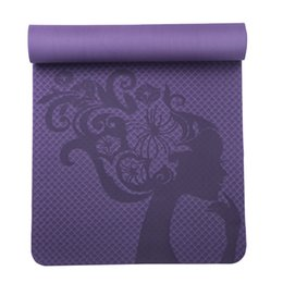 $enCountryForm.capitalKeyWord Australia - Thick pvc Yoga mats fitness environmental tasteless Lose Weight Exercise fitness yoga gymnastics mats Indoor