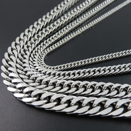 EmErald gifts for womEn online shopping - Steel Link Chain Necklace Cuban Men Of The Best Friends Of Man Jewelry Gifts Accessories For Women Long Necklaces Hip Hop