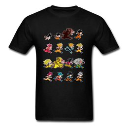 $enCountryForm.capitalKeyWord UK - Evolution Of King Monkey 2018 Men Black T-shirt Dragon Ball Pop Anime Design Male Cotton T Shirt Funny Cartoon Tee
