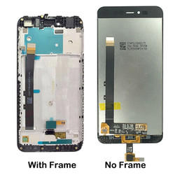 Lcd Touch Screen Housing NZ - For Xiaomi Redmi Note 5A Y1 Lite LCD Display Touch Screen Digitizer Replacement For Redmi Note 5A Prime Y1 Screen Frame Housing